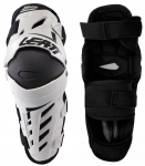 Наколенники Leatt Dual Axis Knee Guard White-Black