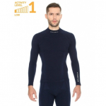 Термокофта Brubeck Wool Merino Dark-Blue