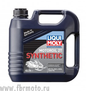 Масло для снегохода Liqui Moly Snowmobil Motoroil 2T Synthetic 4л