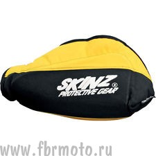Защита рук Skinz Heat Loc Black-Yellow